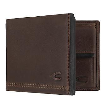 Camel active mens wallet wallet purse with RFID-chip protection Brown 7296