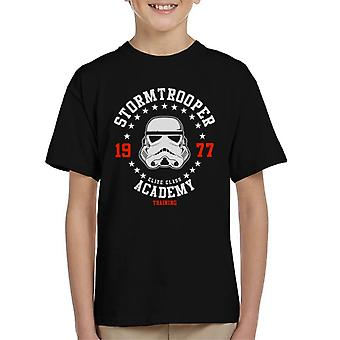 Original Stormtrooper Training Academy Kid's T-Shirt