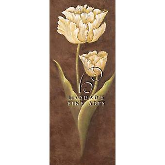 Old World Tulips Poster Print by Elliot Parker (9 x 21)