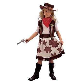 Bnov Cowgirl And Cowprint Skirt Costume