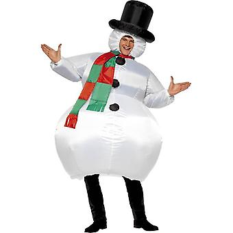 Inflatable Snowman.  One Size