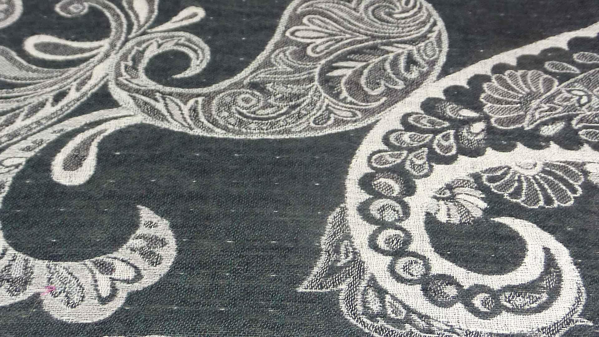Muffler Scarf 2113 in Fine Pashmina Wool Heritage Range by Pashmina & Silk