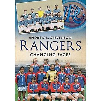 Rangers - Changing Faces da Andrew Stevenson - 9781781550830 libro