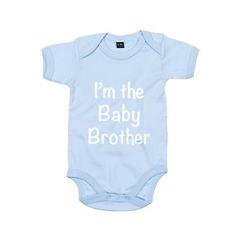 I ' m a Baby Brother kék bodysuit baba Grow