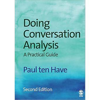 Gjør samtalen Analysis (2nd revidert edition) av Paul Ten Have -
