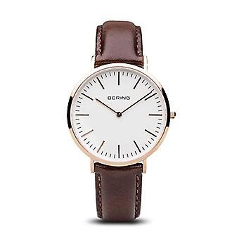 ベーリング アナログ クオーツ メンズ腕時計革 13738 564
