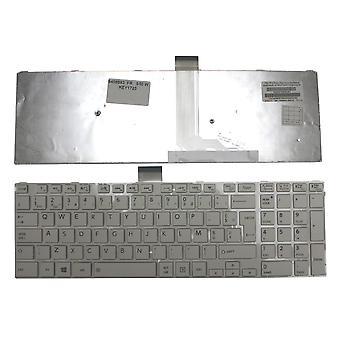 Toshiba Satellite S50-valkoinen kehys valkoinen Windows 8 Ranskan layout korvaaminen Laptop Keyboard