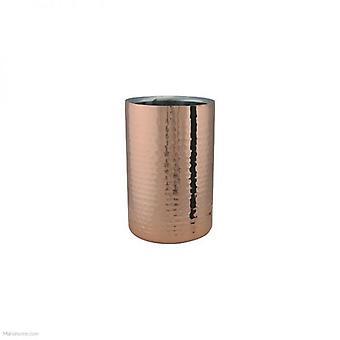 Apollo-Kupfer und Edelstahl Weinkühler 20x12x20cm
