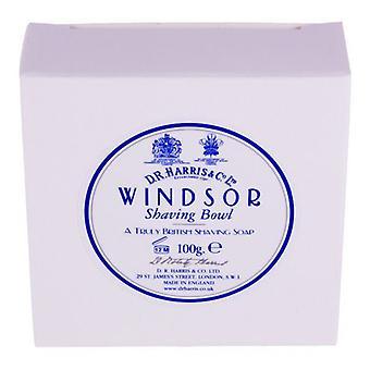 D R Harris Shaving Soap Refill 100g-Windsor