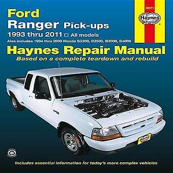 Ford Ranger Automotive Repair Manual - 1993-11 by Haynes Publishing -