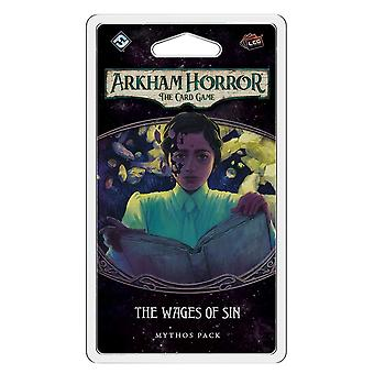 Arkham Horror The Card Game The Wages of Sin Mythos Expansion Pack For Card Game