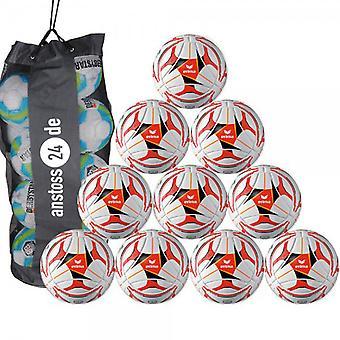 10 x erima Trainingsball Senzor Ambition inkl. Ballsack