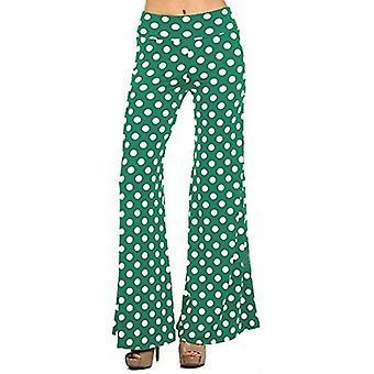 Dbg women's women's palazzo wide polka pants