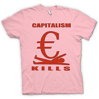 Kvinner t-skjorte - kapitalismen dreper - G20