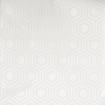 Anaglypta blanco pintable geométrico hexágono papel pintado vinilo pasta pared en relieve
