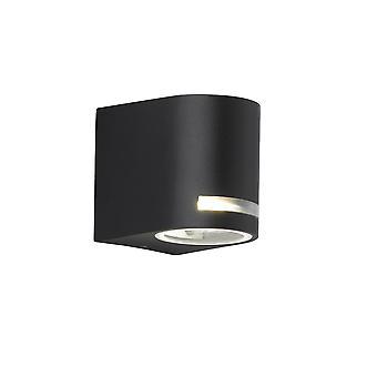 Wofi Panama - 1 Light Outdoor Wall Light Black - 4002.01.10.7000