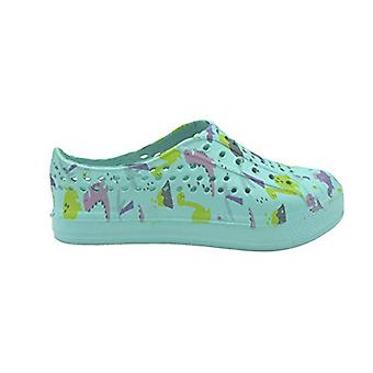dELiAs طفل الفتيات الوجه يتخبط أحذية المياه الاطفال الانزلاق على سريع جاف مطبوع ة أحذية السباحة