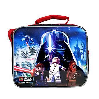 Lunch Bag - Lego Star Wars - Black New SLCO04