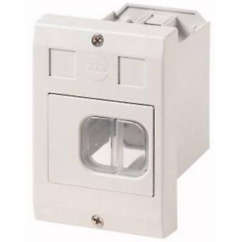 Eaton E-PKZ01-G Suporte de recesso do gabinete, + atuador, + membrana (L x W x H) 80 x 85 x 129 mm Cinza 1 pc(s)