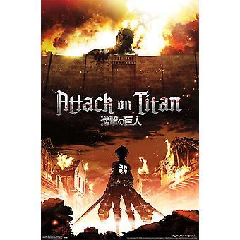 Poster - Studio B - Attack on Titan - Fire 23