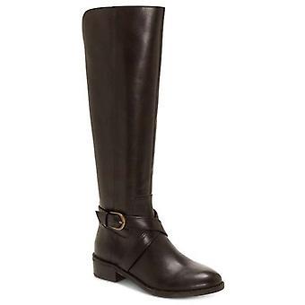 INC International Concepts Womens Fadoral Wide Calf Leather Fashion Boots (en anglais)