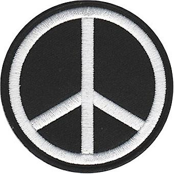 Patch - C&D - Peace Signs White Peace Sign Iron-On New Gifts Toys p-4462