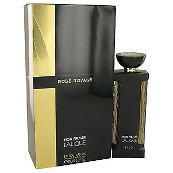 Rose royale eau de parfum spray por lalique 534595 100 ml