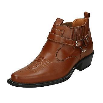 Mens Classique Cowboy Boots MBO-3136