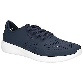Crocs Mens LiteRide Pacer Trainer Navy/White