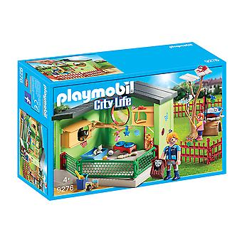 Playmobil 9276 City Life Purrfect Stay Cat Boarding Playset