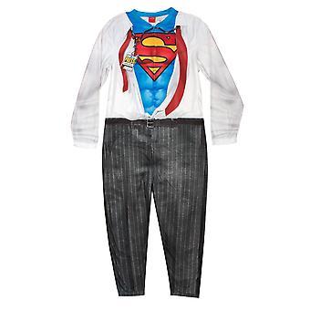 Superman Clark Kent miesten Pajama unionin puku