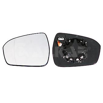 Left Mirror Glass (Heated) & Holder For Ford MONDEO mk5 Saloon 2014-2017