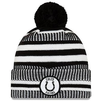 New era Marginine negru Home pom Hat Indianapolis Colts