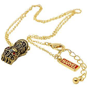 Infinity Gauntlet 3D Pendant Necklace
