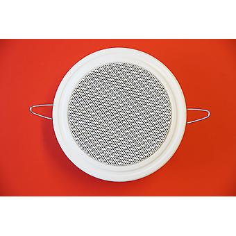 PG audio DL 10 ceiling speakers 30 watts max. newly-ware white 1 piece