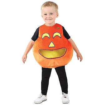 Pumpkin Candy Toddlers Costume