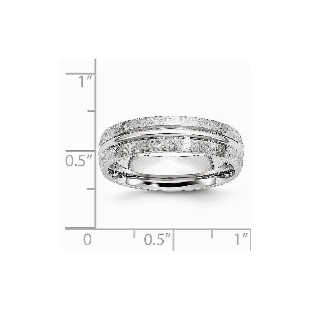 Cobalt Satin 6mm Band Size