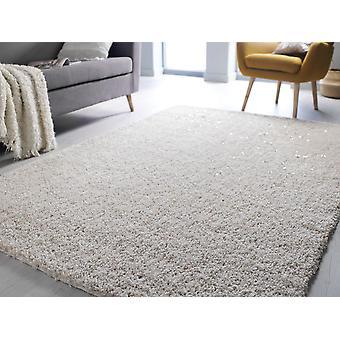 Veloce elfenben rektangel mattor Plain/nästan vanligt mattor
