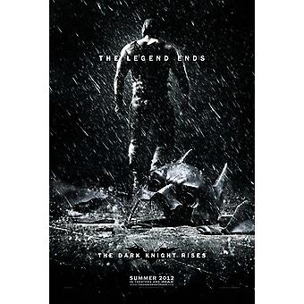 The Dark Knight Rises Double Sided Advance Style B (Bane) (2012) Original Cinema Poster