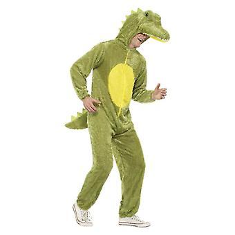 Traje do vestido extravagante Mens crocodilo