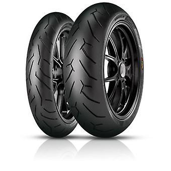 Motorcycle Tyres Pirelli Diablo Rosso II ( 120/60 R17 TL 55H M/C, Front wheel )