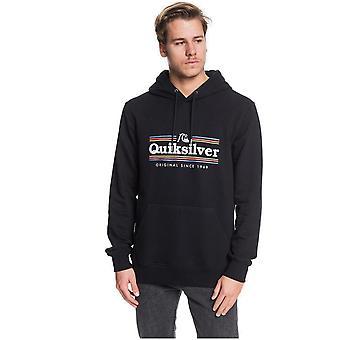 Quiksilver Get Buzzy Pullover Hoody in Black