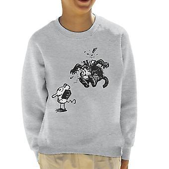 Krazy Kat Surprise Jump Kid's Sweatshirt