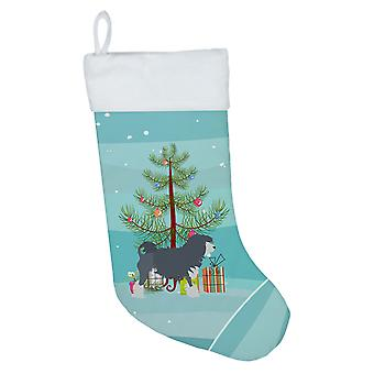 Carolines Treasures  BB2953CS Lowchen Merry Christmas Tree Christmas Stocking