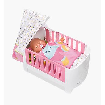 Baby Born 827420 Magic Bed Heaven Dolls Bed With Bedding