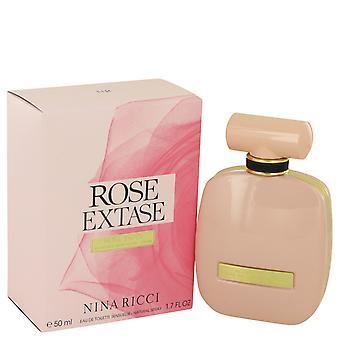 Nina Ricci Rose Extase Eau de Toilette 50ml EDT Spray