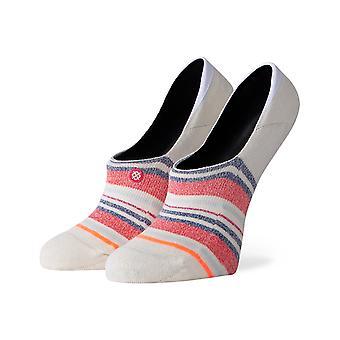 Stance Crossroad No Show Socks in Cream