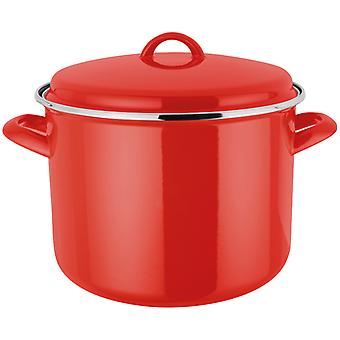 Judge Induction, Red 24cm Stockpot, 7.8 Litre