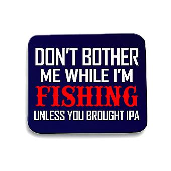 Navy navy blue mouse pad gen0598 fishing unless ipa