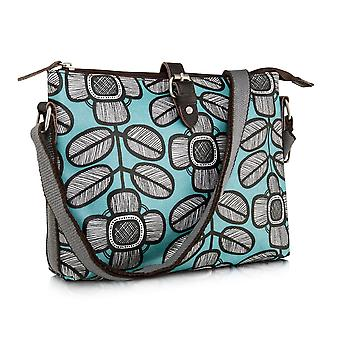 Nicky James Tribal Leaf Print Crossbody Day Bag